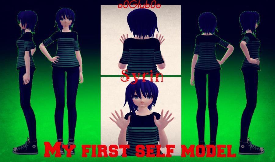[MMD] My first *ACTUAL* Self model! [OLD] by o0Glub0o
