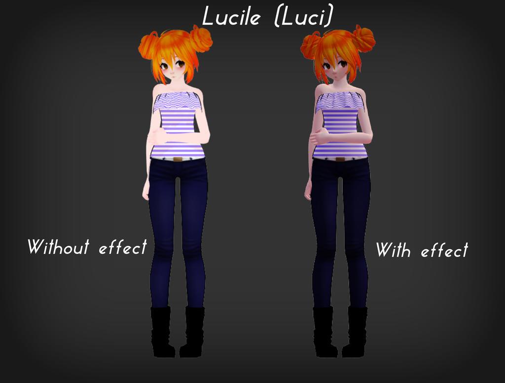 [MMD] Lucile (Luci) by o0Glub0o