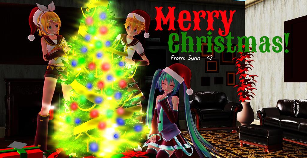 [MMD] Merry Christmas by o0Glub0o
