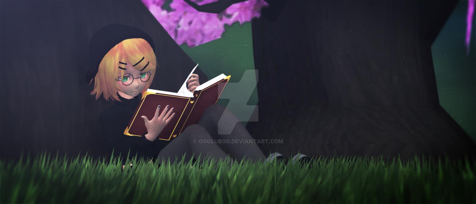 [MMD] Reading by o0Glub0o