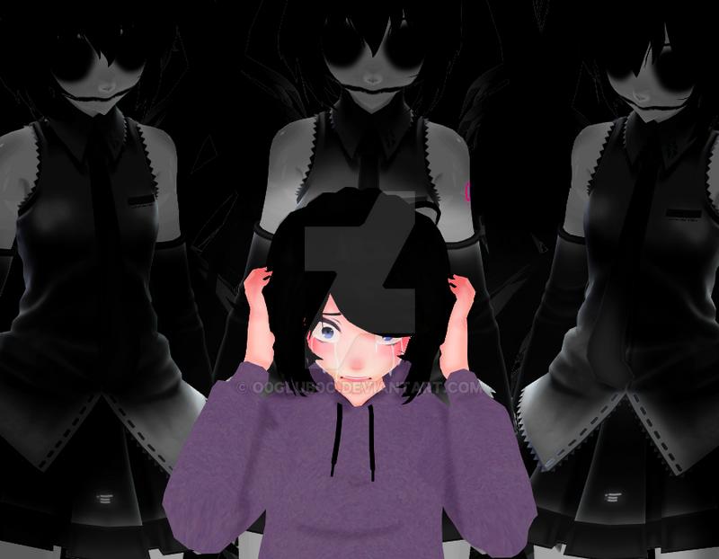 [MMD] Nightmare by o0Glub0o