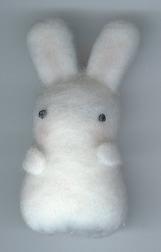 Felt Bunny Plushie by Bunnygirl2190
