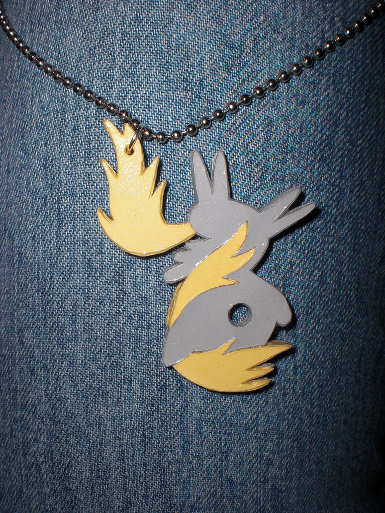 Derpy Cutout Necklace by Bunnygirl2190