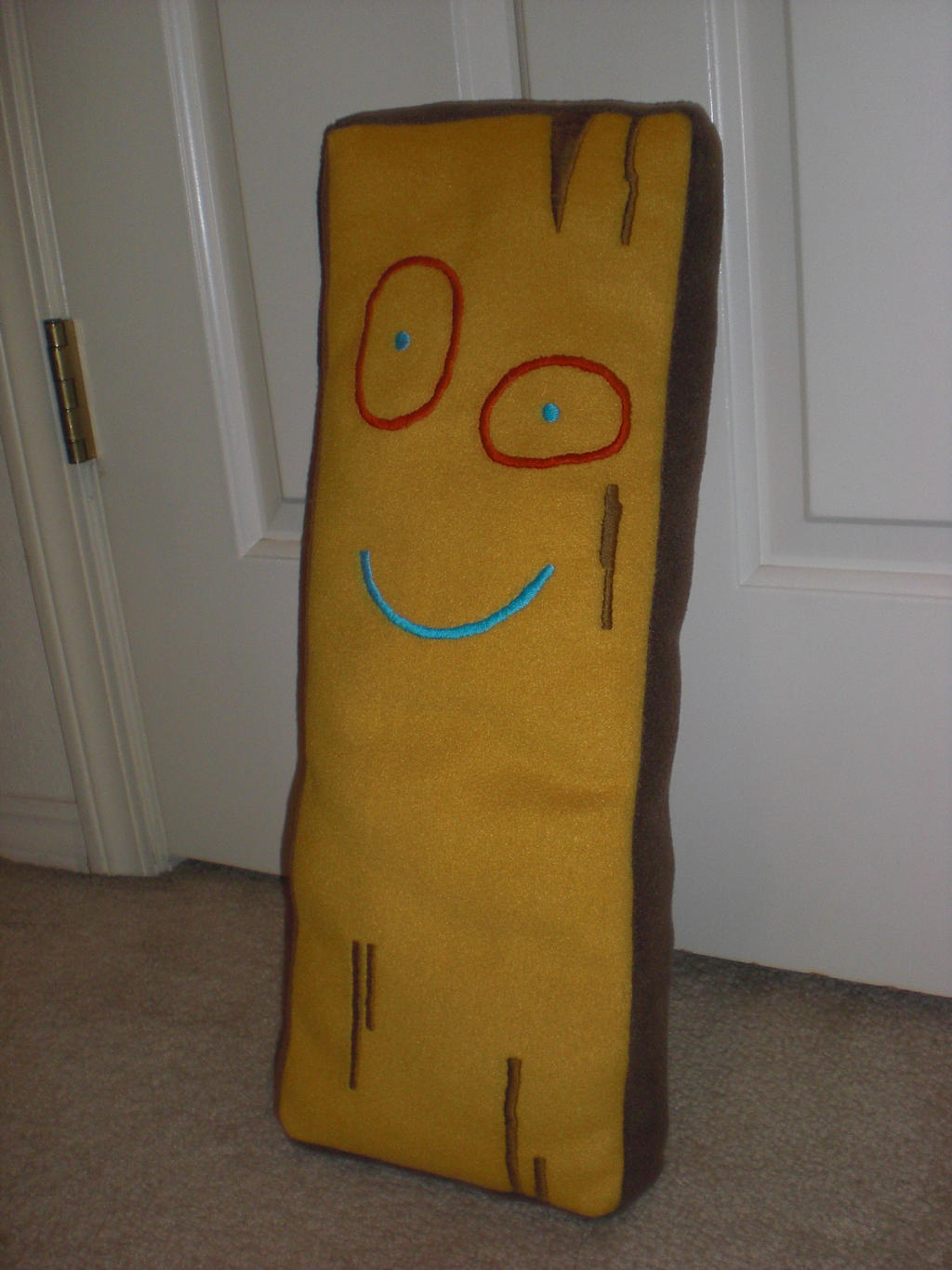 Plank Plushie by Bunnygirl2190