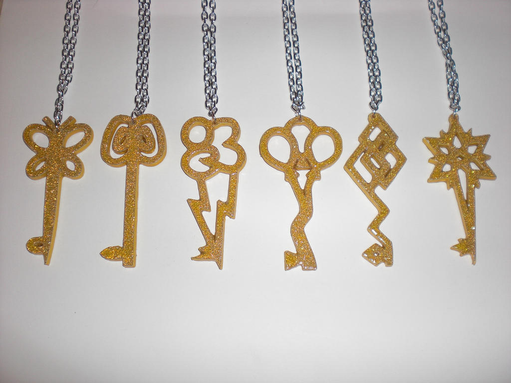 Limited edition keys of harmony paper pendants by bunnygirl2190 limited edition keys of harmony paper pendants by bunnygirl2190 mozeypictures Images