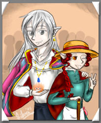 Howls Moving Castle Cosplay by silver-dragonetsu
