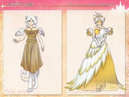 The Swan Princess by silver-dragonetsu