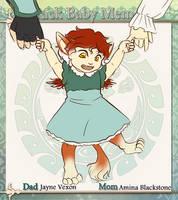 Crack Baby Meme: Little Elle by silver-dragonetsu