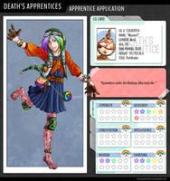 Deaths Apprentices: Maxwell by silver-dragonetsu