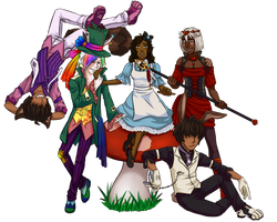 DeApp: PriSSSM in Wonderland by silver-dragonetsu