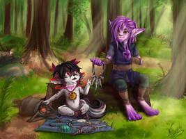 Bartering by silver-dragonetsu
