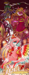Feather Fall: A Bird Drama by silver-dragonetsu