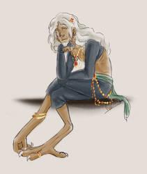 Contemplation by silver-dragonetsu