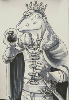 SketchCard: The Frog Prince
