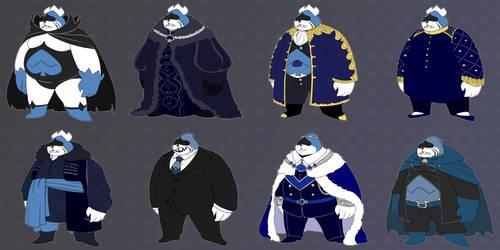 [DELTARUNE] royal fashion