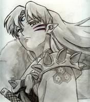 Sesshomaru by Grimwarrior