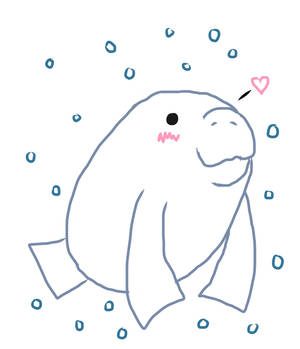 Manatee Loves You!