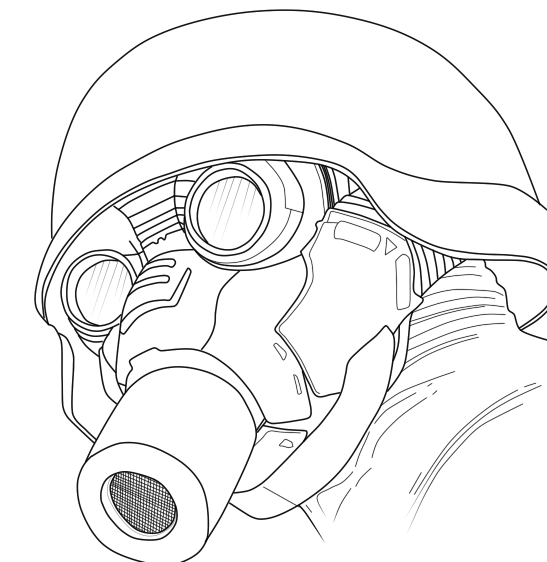 Soldier Gas Mask Lineart by Valheluxe on DeviantArt