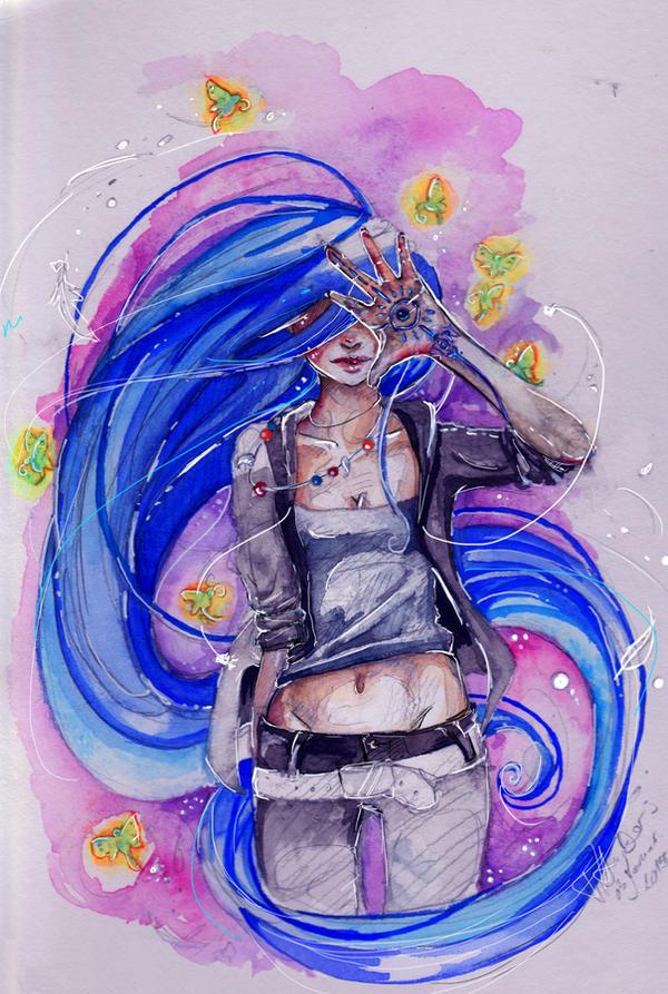 Daughter of Smoke and Bone by Blaukehlchen