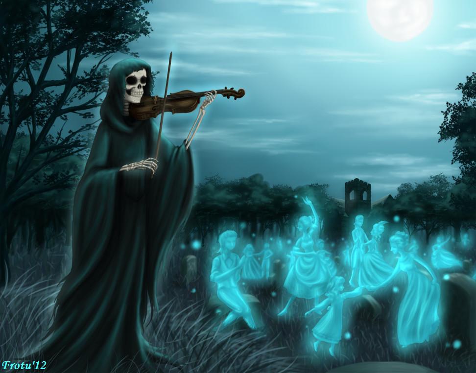 Danse Macabre by Frotu