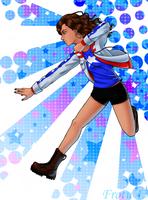 America Chavez by Frotu