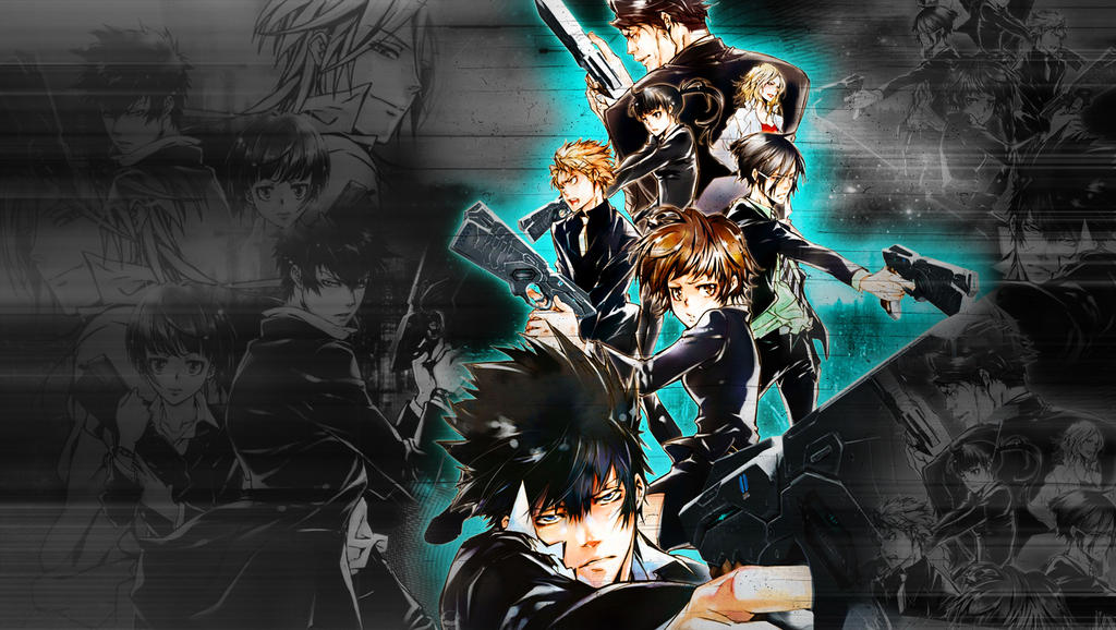 Psycho-Pass Wallpaper by Michalv on DeviantArt