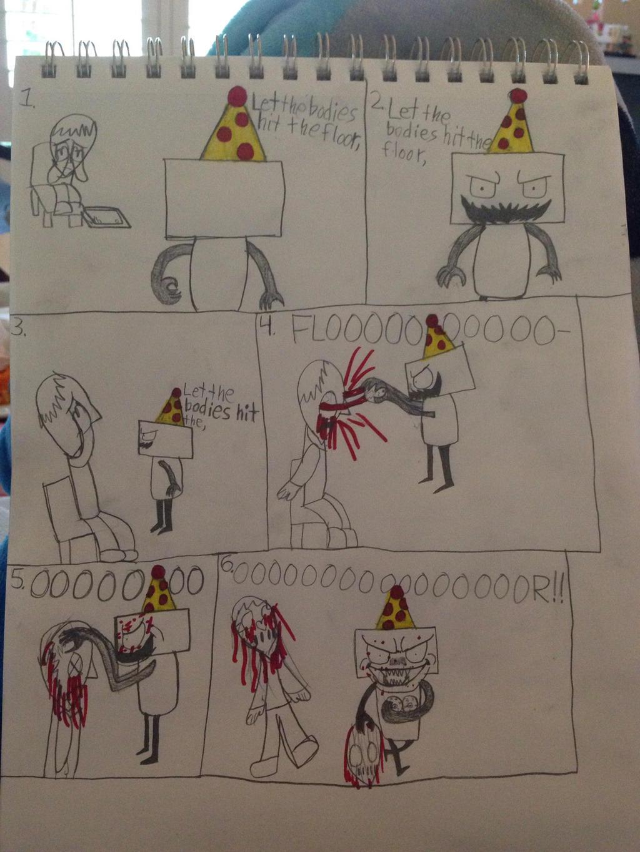 ... Iloveminecraft55 ONAF Comic   Let The Bodies Hit The Floor By  Iloveminecraft55
