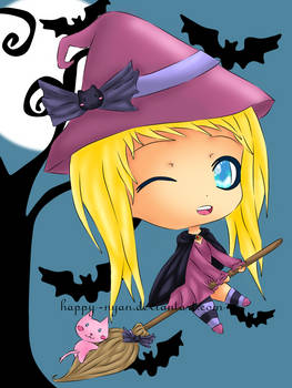 Noelle the little Witch