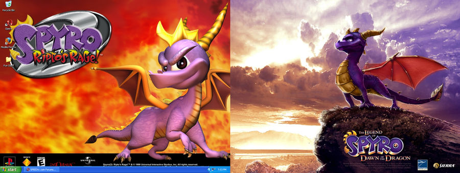 Spyro - Past and Present