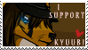 I Support Kyuubi Stamp by FennecArsenec