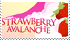 Strawberry Avalanche Stamp by FennecArsenec