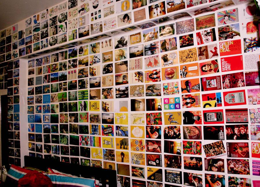 2010 Postcard Wall By Ali In A Bubble On Deviantart