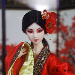 female role in Chinese opera by Snowdreamuu