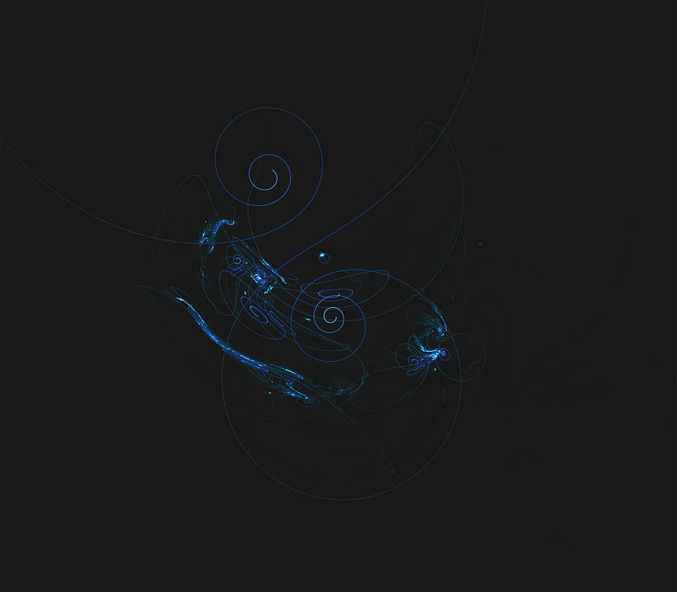 Blue fractal by kkontinuum