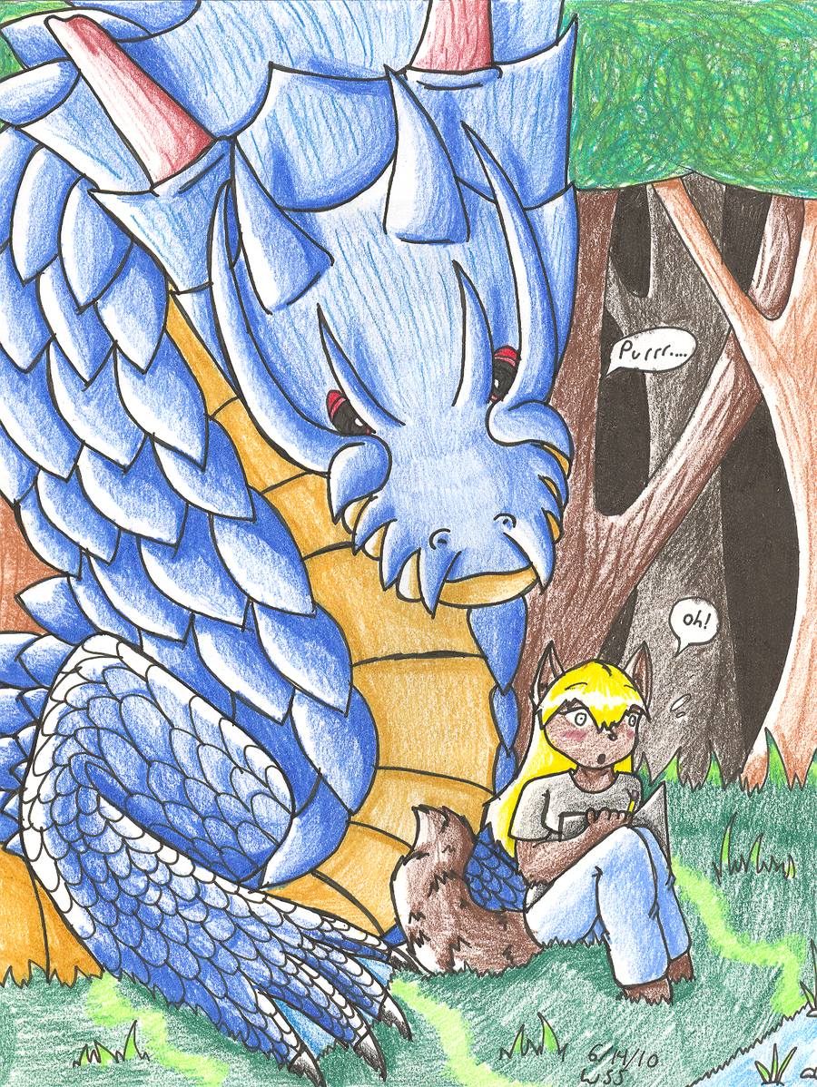 Oh- Lagiacrus. by WigglyWolf