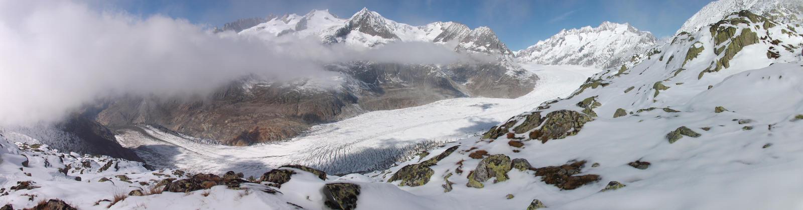Grosser Aletschgletscher by Azifri