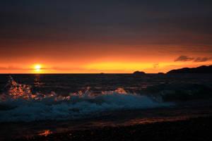 Splash of fire by jonathoncomfortreed
