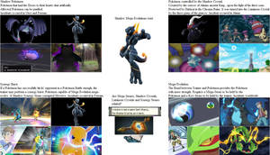 Shadow - Mega - Synergy - Hypnosis Pokemon Theory