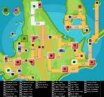 Labelled Sinnoh Map
