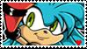 Becky the hedgehog stamp