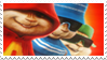 Alvin and the Chipmunk stamp