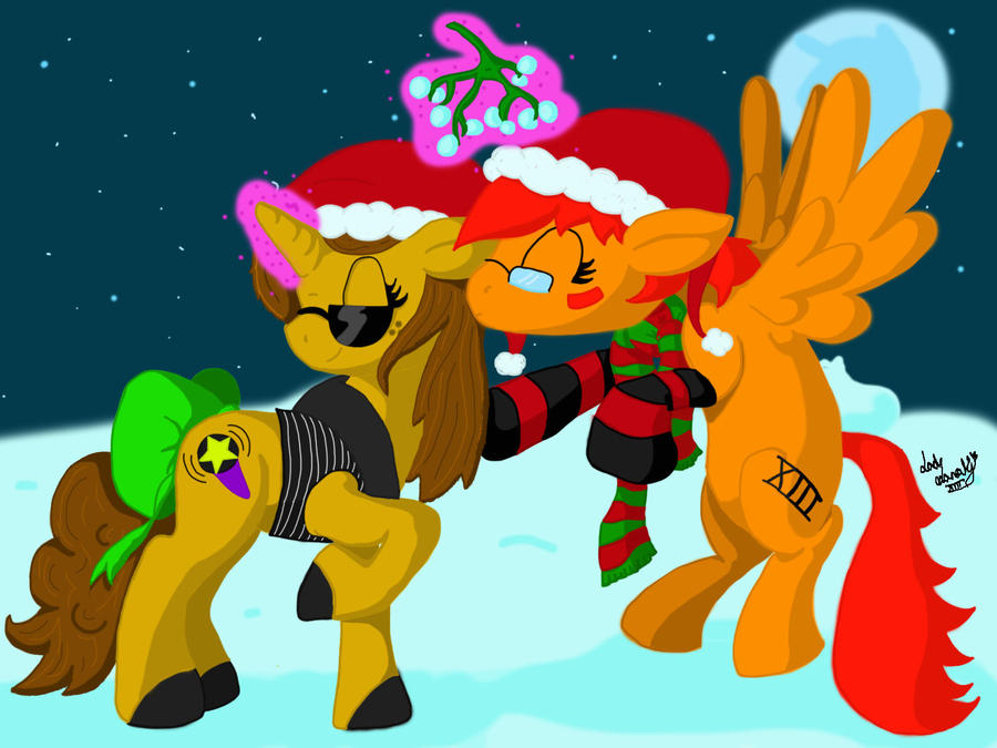 Merry Christmas Monty by LadyNanaki