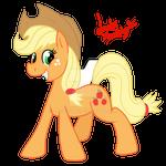 Happy Applejack [Michael Morones Fund] by LadyNanaki