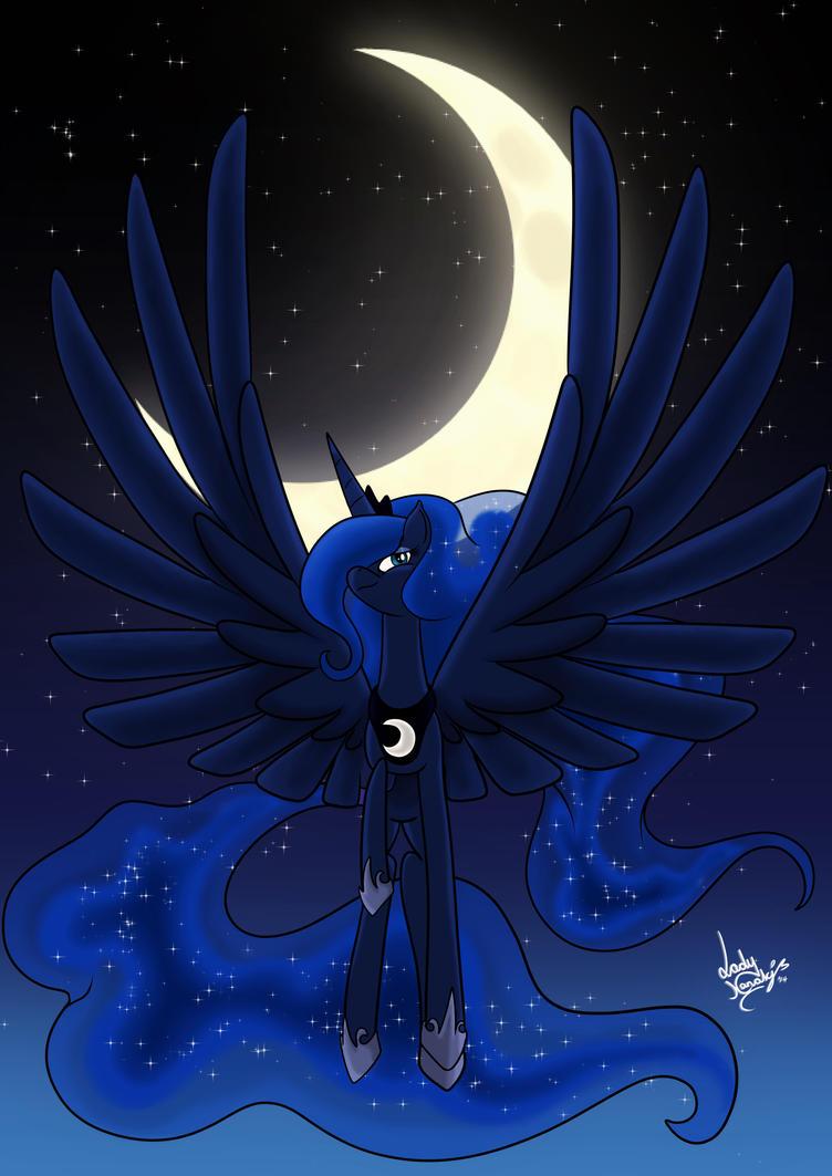 Princess of the night by LadyNanaki
