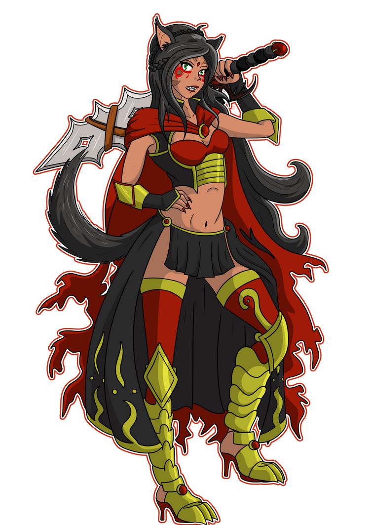 N'tauken the Bladebound by LadyNanaki