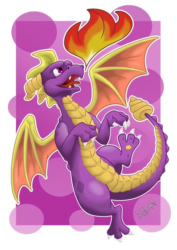 Spyro hype by LadyNanaki