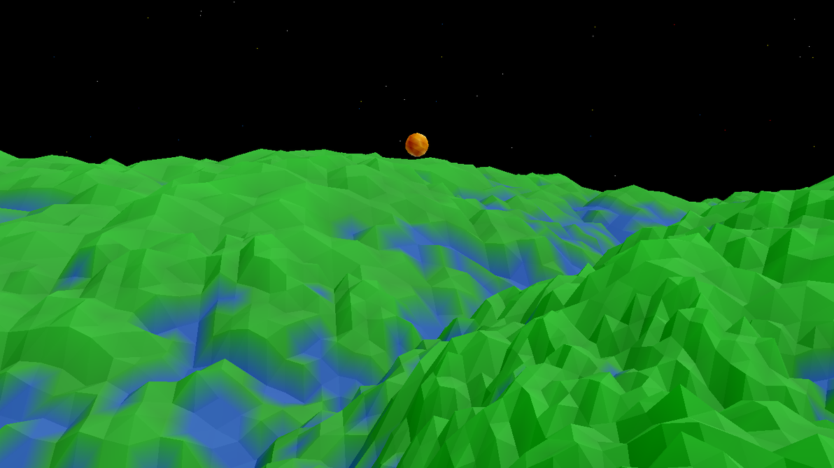 Starrise Over Tesselation Valley by EmbassyOfTime
