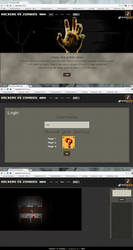 Hackers VS Zombies - Game Interface by OmikronD