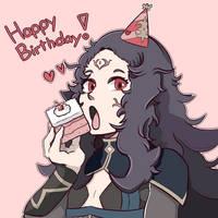 Happy Birthday Nyx! by blabladouble