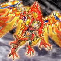 Hieratic Dragon by SlackerMagician